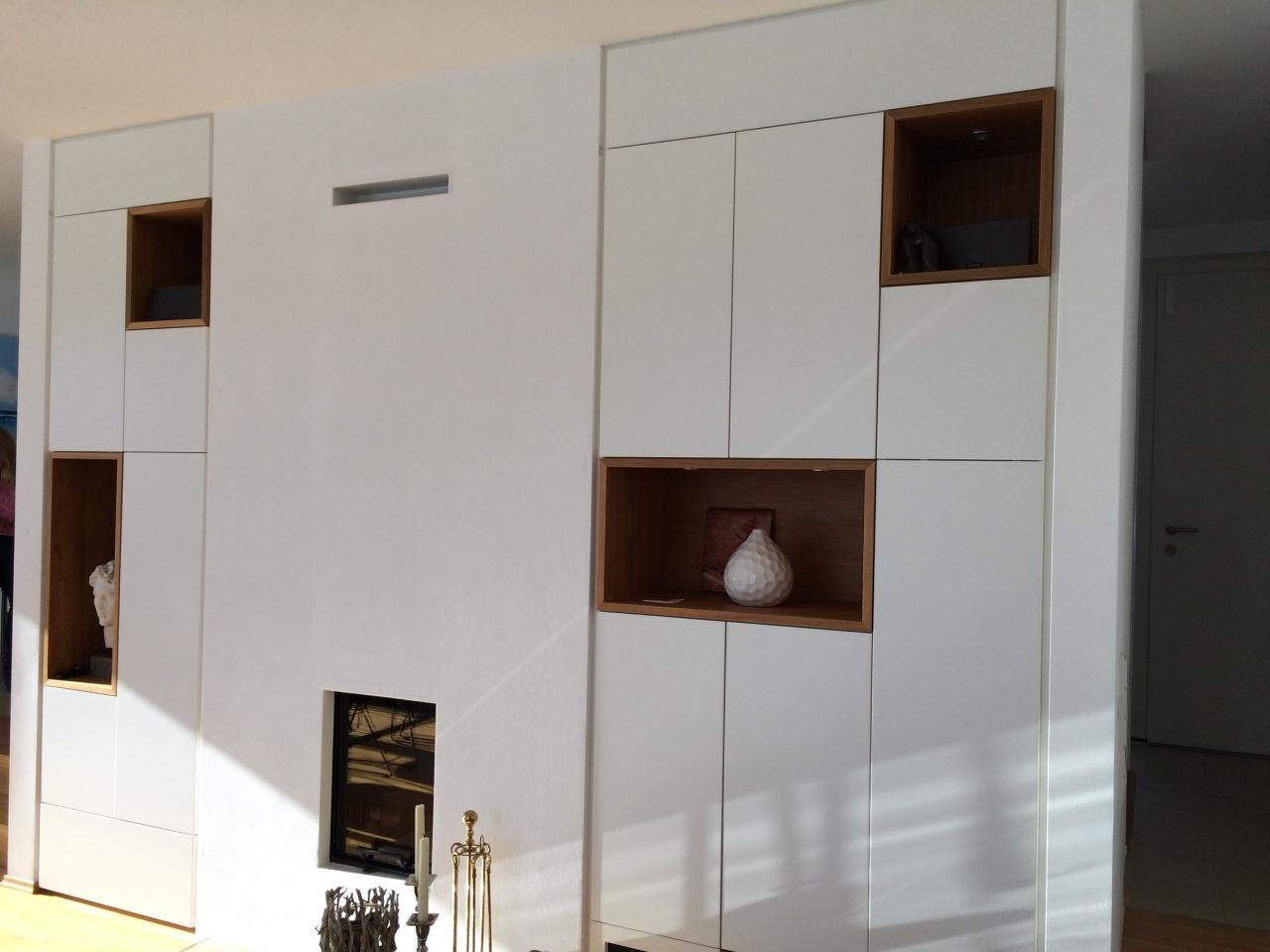 Wohnzimmerschrank Villa in München