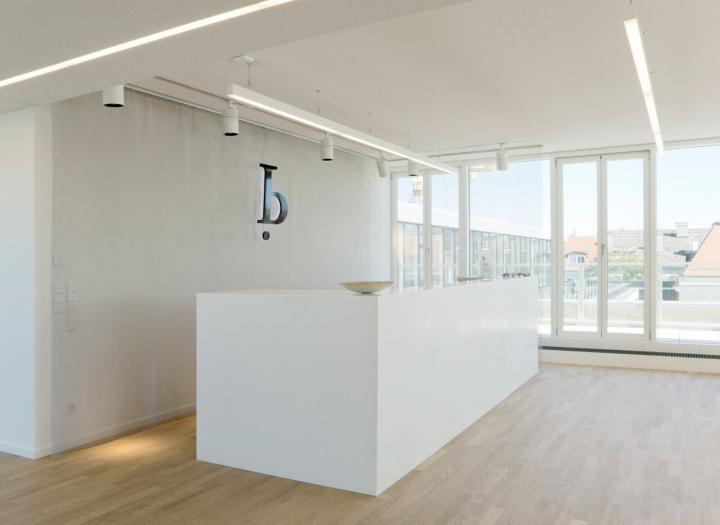 Empfangstheke Bürogebäude München